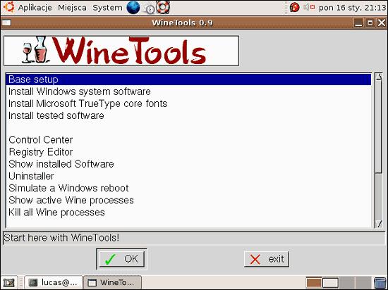 Instalacja Wine w Ubuntu Linux