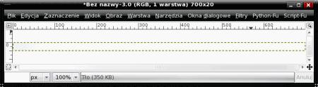 Definiowanie gradientu w GIMP