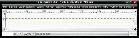 Ustawianie gradientu w GIMP