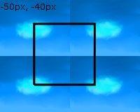 Chmurka - przykład css-sprites