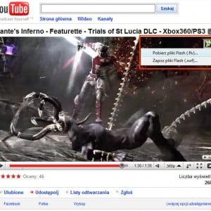 Pobieranie filmów z Youtube za pomocą DownloadStudio