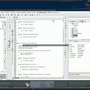 Pajączek na Linux Debian