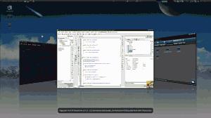 Główne okno Pajączka na Debian Linux