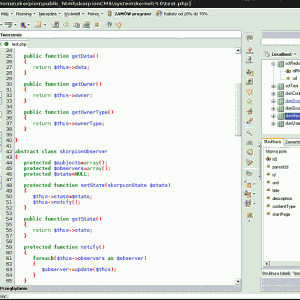 Połączenie z bazą danych SQL z Pajączka na Debian Linux