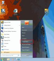 Uruchomienie panelu sterowania w Windows 7
