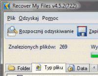 Recover My Files - odzyskiwanie skasowanych plików
