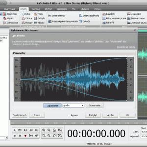 AVS Audio Editor - Zaawansowana i precyzyjna edycja dźwięków i muzyki na osi czasu