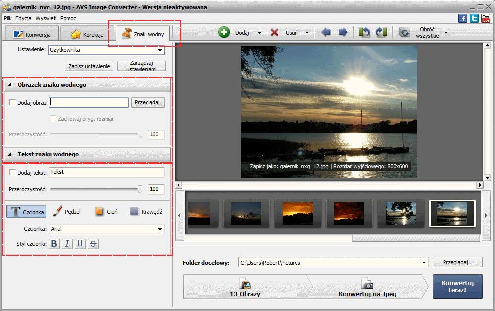 Jak Dodać Znak Wodny Lub Logo Do Wielu Zdjęć Na Razcreamsoftware