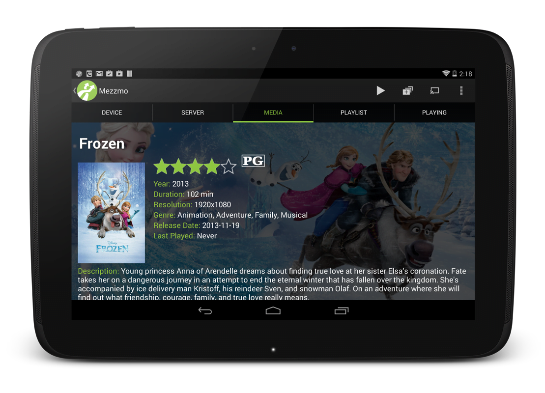 Aplikacja Mezzmo na Android