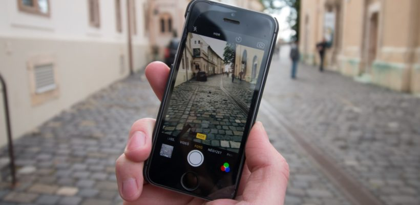Nagrywanie filmów smartfonem
